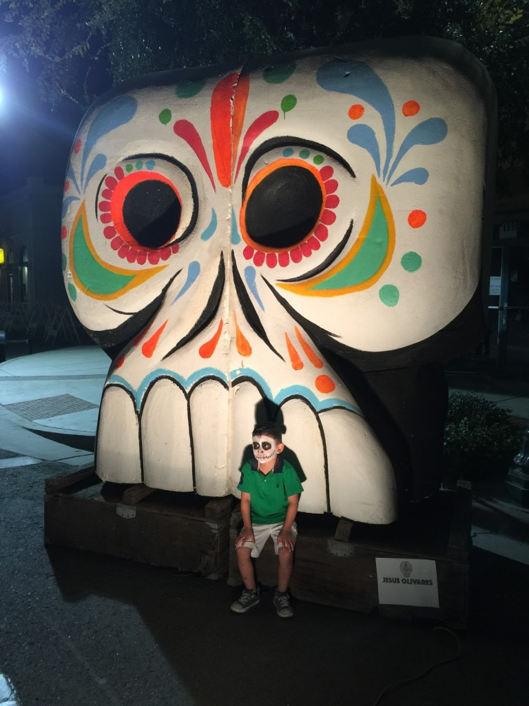The size of this Calavera is huge.