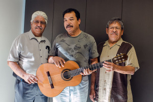 Los Vigilantes del Desierto at the Indio Senior Center, Chuy, Rogelio, Bernardino